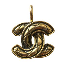 Chanel-Pendant necklaces-Golden