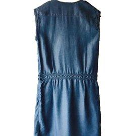 Comptoir Des Cotonniers-Robes-Bleu