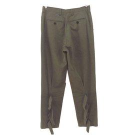 Dries Van Noten-Pantalons-Kaki