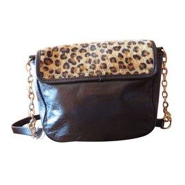 Guess-Sac léopard GUESS-Noir