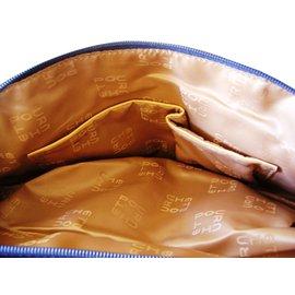 Autre Marque-Pourchet Sacs à main-Bleu Marine