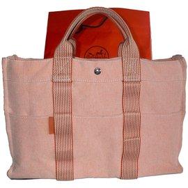 Hermès-Totes-Peach