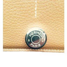 Hermès-Hermes Dogon Wallet-Brown