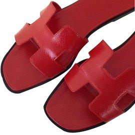 Hermès-ORAN EPSOM-Red