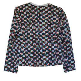 Yves Saint Laurent-veste tailleur-Multicolore