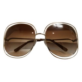 Chloé-Sunglasses-Golden