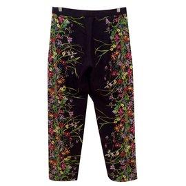 Gucci-Pantalons-Multicolore