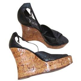 Dior-Sandals-Black