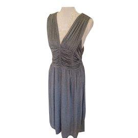 Burberry-Dresses-Grey