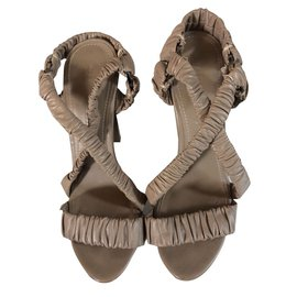 Burberry-Sandals-Beige