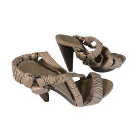 Burberry-Sandals-Beige