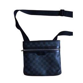 Louis Vuitton-Pochette Homme Louis Vuitton Damier-Noir