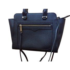 Rebecca Minkoff-Handbags-Navy blue