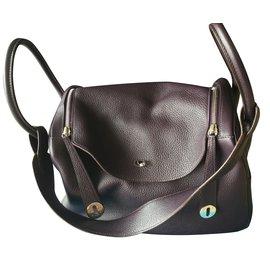 Hermès-Handbags-Purple