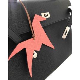 Hermès-Bijoux de sac-Noir