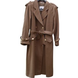 Burberry-Coats, Outerwear-Brown
