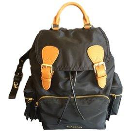 Burberry-Burberry backpack-Black
