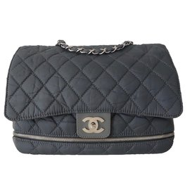 Chanel-SAC CHANEL TIMELESS GRIS-Gris