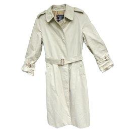 Burberry-Trench coat-Eggshell