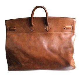 Hermès-Superb collector's item: Vintage Leather  Belts-Brown