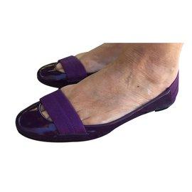 Chloé-Ballet flats-Purple