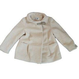 Zara-Girl Coats outerwear-Beige