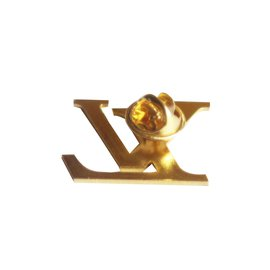 Louis Vuitton-Logo LV-Doré