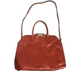 Valentino Garavani-Handbags-Caramel