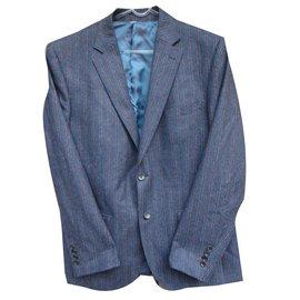 Carven-Blazers Jackets-Dark grey