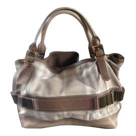 Burberry-Handbag-Cream