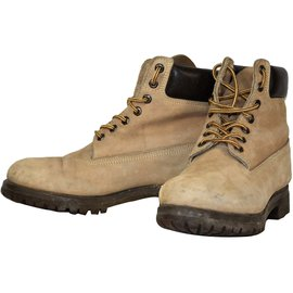 Timberland-Boots-Beige