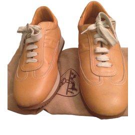 Hermès-Hermes sneakers-Brown