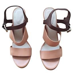 Chloé-Sandals-Caramel