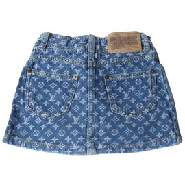 Louis Vuitton-Skirts-Blue