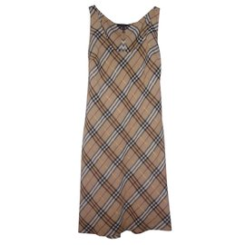 Burberry-Dresses-Beige