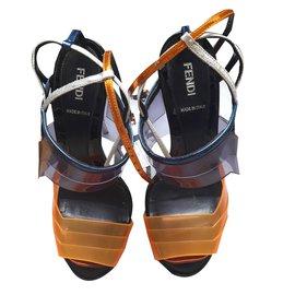 Fendi-Sandales-Multicolore