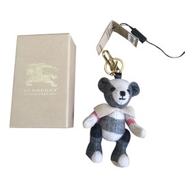 Burberry-Bag charms-White
