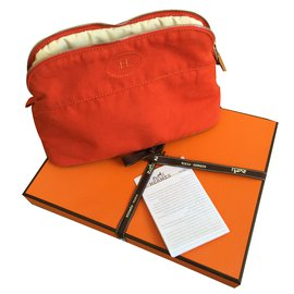 Hermès-Purses, wallets, cases-Orange