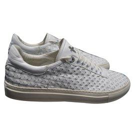 Cesare Paciotti-Cesare paciotti sneakers-White