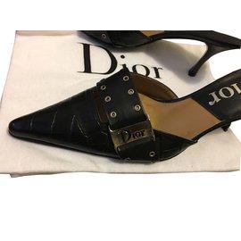 Dior-Sandales-Noir