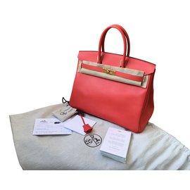 Hermès-Birkin 35-Corail