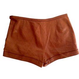 Hermès-Shorts-Marron
