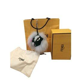 Fendi-Bijoux de sac-Multicolore