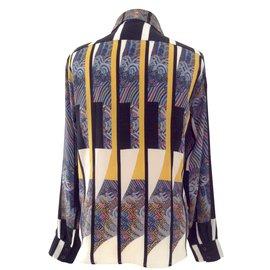 Dries Van Noten-Chemise, blouse-Multicolore
