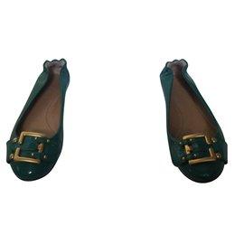Chloé-Ballerinas-Green