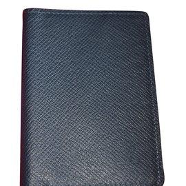Louis Vuitton-organiseur de poche-Bleu Marine