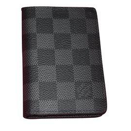 Louis Vuitton-Organizeur de poche-Gris