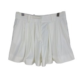 Céline-Shorts-White