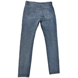 Maison Martin Margiela-distressed jeans-Blue