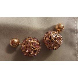 Dior-Boucle d'oreilles-Rose